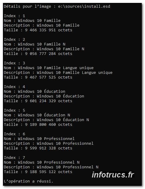 Créer Clé USB Live Windows 10 – Infotrucs fr